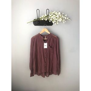 🎀 NWT • Free People • The Best Blouse